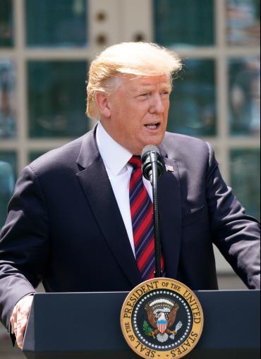 El presidente Donald Trump presentó su plan de de inmigración que excluye a los Dreamers. Foto: La Casa Blanca via facebook