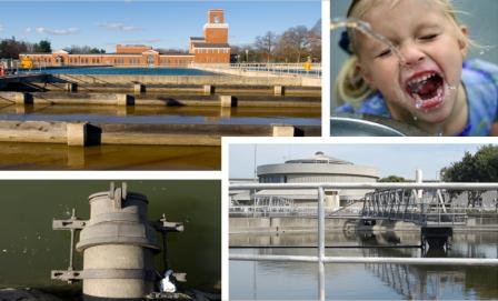 La investigación de la Agencia para la Protección del Medioambiente (EPA) apoya la gestión de los recursos hídricos donde la infraestructura de agua natural y construida proporciona agua potable segura y proporciona transporte y tratamiento específico para el uso de aguas residuales. Foto: epa.gov.