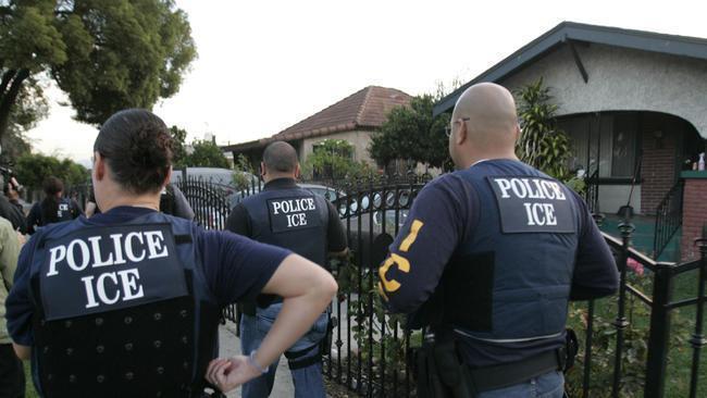Las redes de respuesta rápida denuncian las violaciones al debido proceso por parte de ICE en el norte de California. Foto: Sanctuary Santa Cruz.