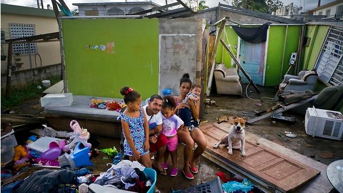 SBS Puerto Rico aún se está recuperando del daño causado por el huracán María. (AAP)