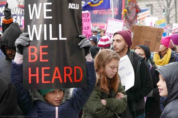 2019 Women's March .... Foto: ACLU