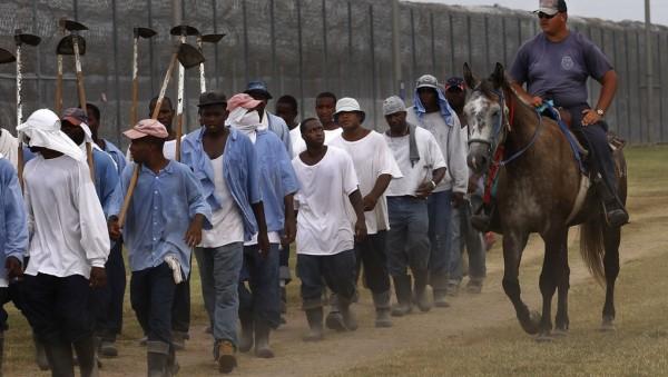 Trabajo esclavizado en las prisiones de Estados Unidos. Foto: www.mic.com.