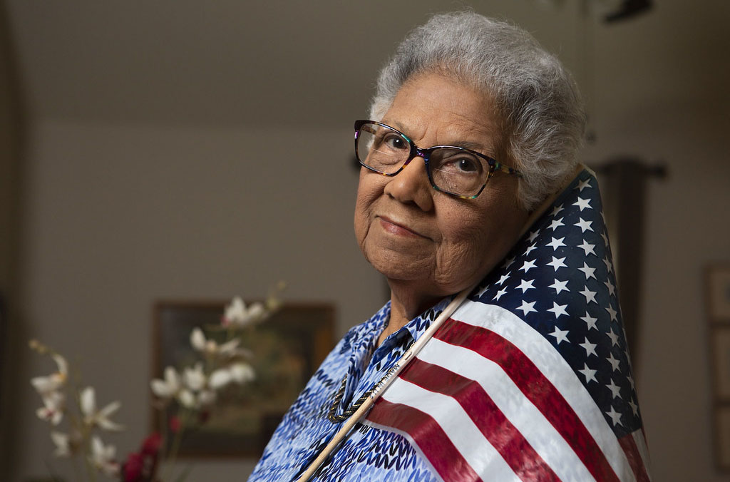 Veterana activista portorriqueña, Ada Villafañe. Foto: Lynda Gonzalez