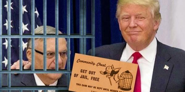 El presidente Trump le otorgó un perdón presidencial al criminal convicto, Joe Arpaio. Foto: http://weareflagrant.com.