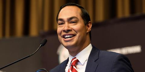 Julián Castro, precandidato demócrata a la presidencia de Estados Unidos en 2020. Foto: www.elle.com.