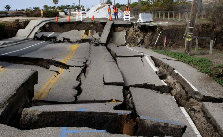 Free News In California, there was the second powerful earthquake in a week