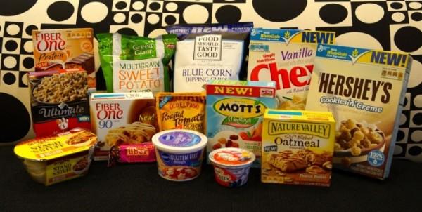 Variedad de productos lanzados comercialmente a nivel global, de la compañía General Mills. Foto: Página Web de General Mills.