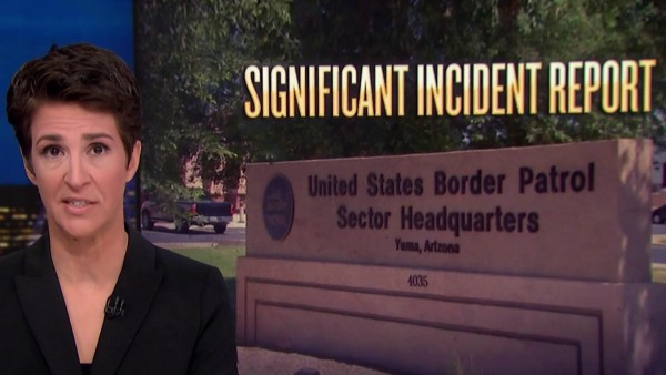 El anuncio del reporte sobre el asalto sexual a una niña hondureña detenida en una cárcel de la agencia federal de Protección de Fronteras, CBP. Foto: flipboard.com.