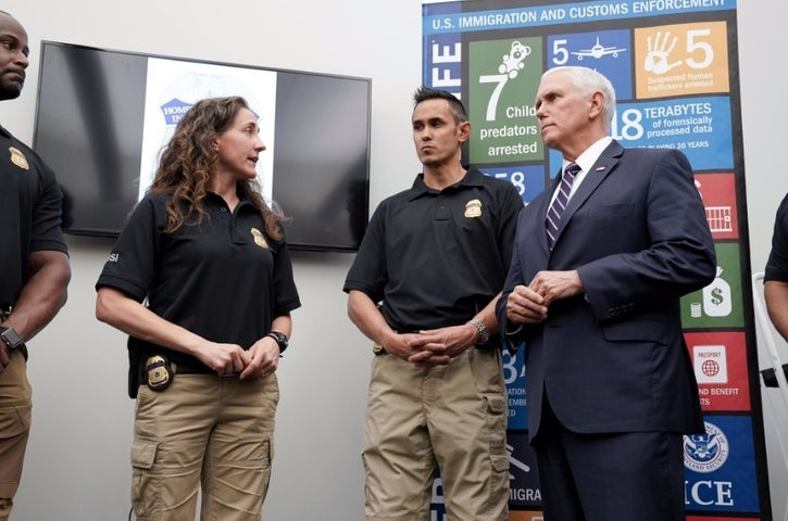Baltimore had a visit from Vice President Mike Pence on Wednesday, May 1. (Vice President Mike Pence)