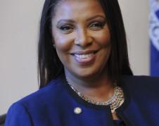 Fiscal General del Estado de Nueva York, Letitia James. Foto: fiscalía General de NY.