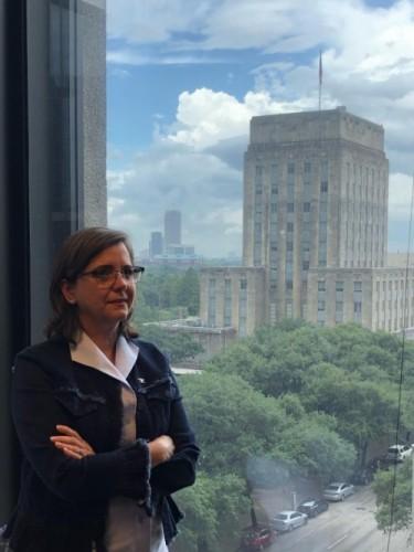 Margaret Wallace Brown del gobierno de la ciudad de Houston, en el Departamento de Planeación. Foto: Mariana Pineda.