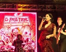 Ana Tijoux fue una de las artistas que participaron en el festival musical.