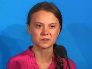 La joven ambientalista, Greta Thunberg.
