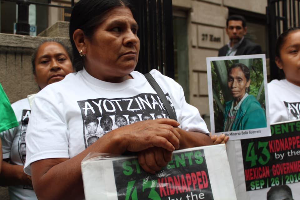 5to aniversario 43 normalistas de Ayotzinapa desparecidos. NY