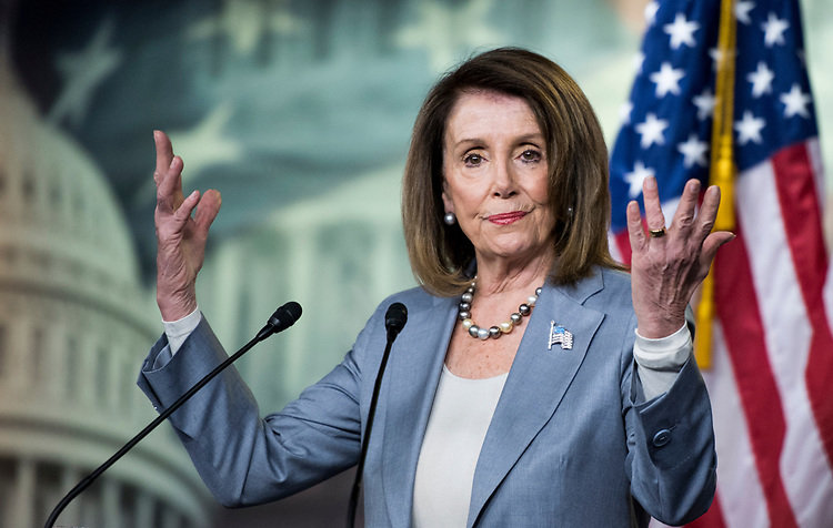 La presidenta de la Cámara de Representantes, Nancy Pelosi, demócrata de California: Foto por Bill Clark / CQ Roll Call.