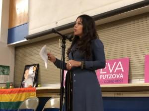 Zaira Livier habla sobre cómo conocer a la familia de Frankie la motivó a continuar su activismo por la Proposición 205.