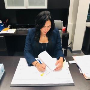 La Abogada de Inmigración Naimeh Salem fue pieza clave en la liberación de Melissa Flores.