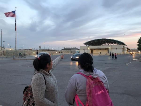 La frontera entre El Paso, Texas, y México, es donde Melissa Flores pasó sus días más tristes, separada de su hija de 5 años de edad, con la angustia de no saber qué era de la niña, dónde y con quién estaba, como la trataban.