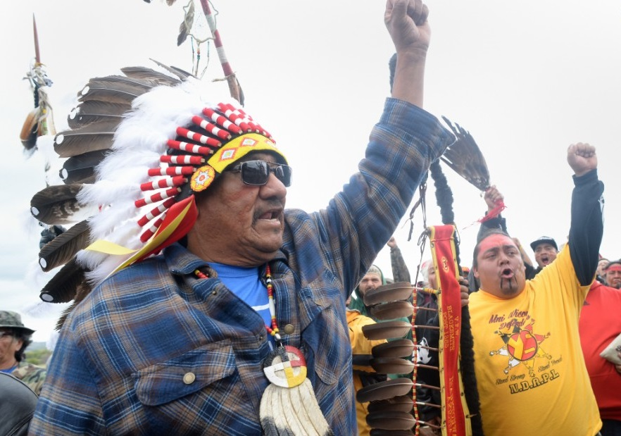 Standing Rock Sioux Tribe in North Dakota. Foto: www.themonastery.org.