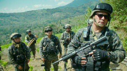 La lucha contra el narcotráfico en México. Foto: Netflix.