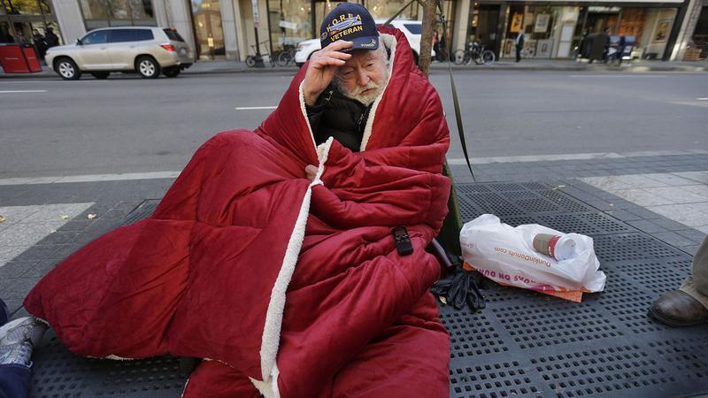 De acuerdo con la Alianza Nacional para Terminar con la Falta de Vivienda, en cualquier noche de 2014, 610 mil 42 personas en todo Estados Unidos no tenían techo donde dormir.  Y de este universo, alrededor del 9 por ciento de los adultos sin hogar, o 57 mil 849 son veteranos. Foto: www.revealnews.org.