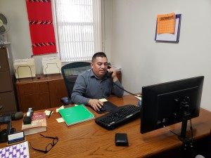 Fausto Sánchez, trabajador del Proyecto Indígena de la CRLA.