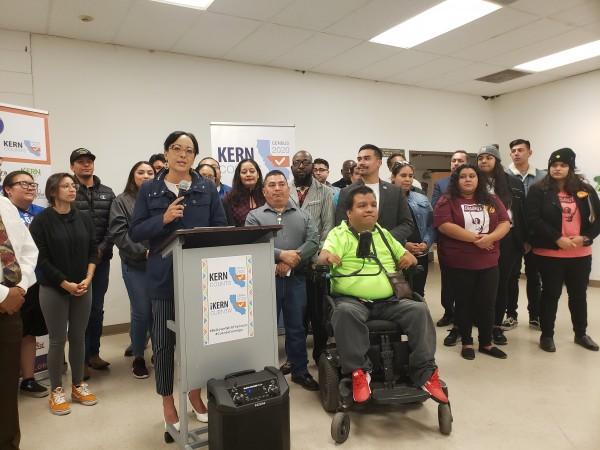 Leticia Pérez, Supervisora del Condado Kern en el 5to Distrito, es parte de la coalición multiétnica que promueve la campaña del Censo 2020.