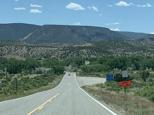 Paisaje de la región Río Arriba.