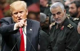 Donald Trump y Qassem Suleimani. Foto: www.nationalheraldindia.com.