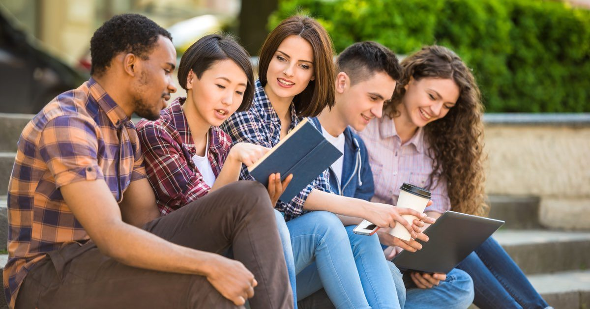 Estudiantes de Colegio Comunitario en Nuevo México. Foto: www.collegeatlas.org.