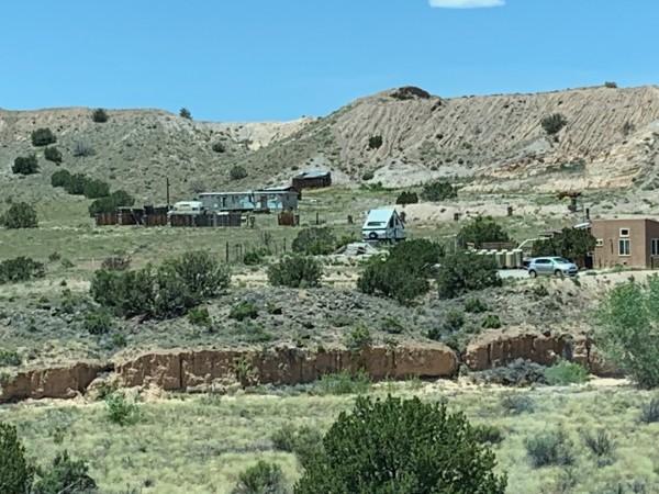Vista de la región de Río Arriba en Albuquerque, Nuevo México. Foto: Samuel Orozco.