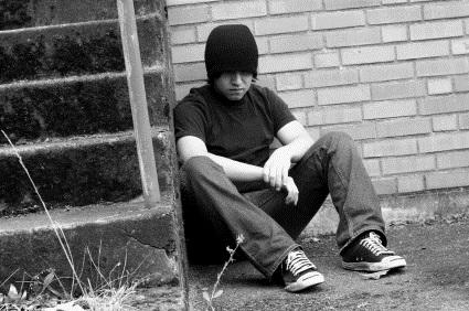 Un estudiante en Kentucky pasa temporadas viviendo en la calle y faltando a clases. Foto: www. drugfree.org.