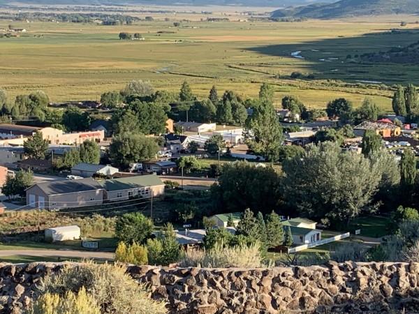 Paisaje del pueblo de San Luís, Colorado.
