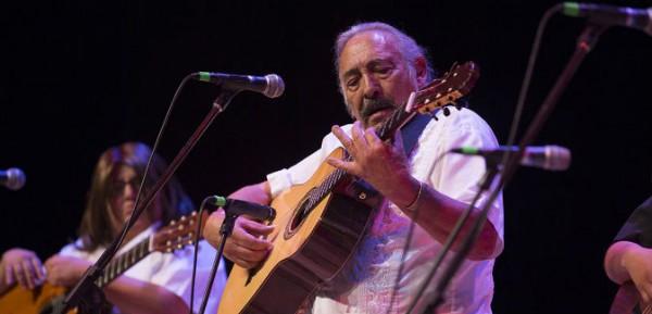Cipriano Vigil en concierto.