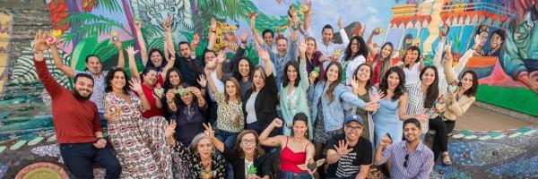 Grupo de colaboradores de Latino Community Fdn. Foto: https://twitter.com/latinocommfdn.