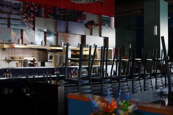 Steelhead Diner, cerró cuando el negocio cayó durante el coronavirus. Foto: Shaminder Dulai / Crosscut.