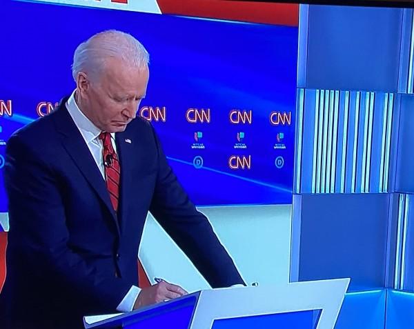 Joe Biden, exvice Presidente de Estados Unidos y precandidato demócrata para competir por la Casa Blanca en noviembre.