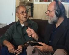 Samuel Orozco entrevista a don Salomón López en su casa, en el Sur de Colorado.