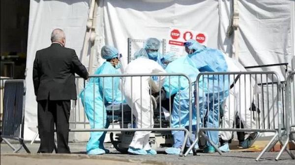 Cerca de 2 mil muertes de COVID-19 fueron reportadas ayer martes 8 de abril de 2020, el mayor número de muertes en un solo día en cualquier país desde que surgió el nuevo coronavirus. Foto: https://weather.com.