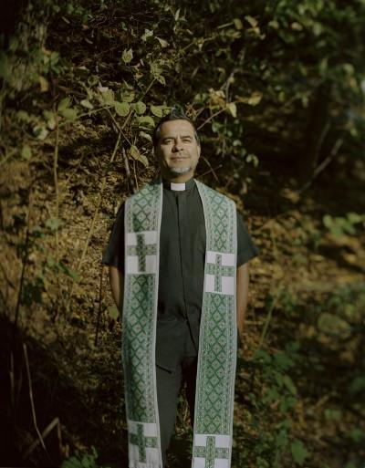 Juan Carlos Ruíz, sacerdote de la Iglesia del Buen Pastor, en Brooklyn, Nueva York. Foto: Cinthya Santos.