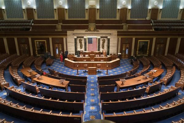 Pleno del Congreso donde se votó el viernes 15 de mayo por la Ley HEROES. Foto: https://www.masslive.com.