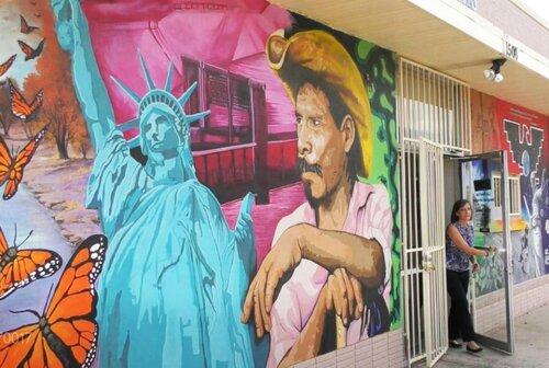 Abogado dan la alarma sobre el riesgo COVID-19 de los migrantes detenidos. Foto: https://las-americas.org.