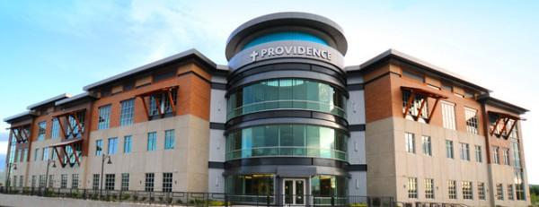 Uno de los hospitales de la cadena de Providence en Oregon. Foto: https://oregon.providence.org.