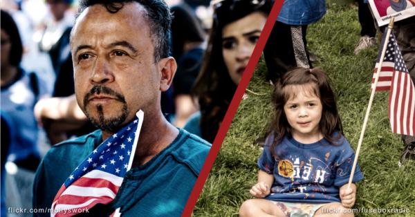 Dile al Congreso: Incluye a los inmigrantes en la Ley de los Héroes. Foto: NILC.