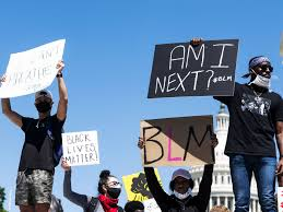 Continúan las protestas en DC por la muerte de George Floyd en Minneapolis, Minnesota. Foto: www.vox.com.
