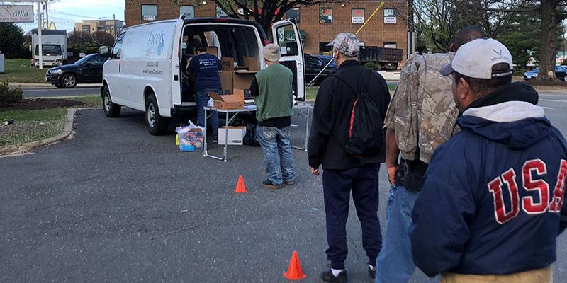 Fondo de respuesta al COVID-19 para el concesionario del norte de Virginia. Foto:  ttps://www.cfnova.org.