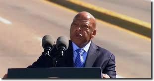 Congresista demócrata recién fallecido, John R. Lewis, uno de los últimos gigantes del histórico movimiento por los derechos civiles en EE UU. Foto: https://www.americanrhetoric.com.