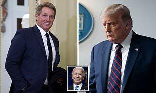 Ex senador republicano de Arizona, Jeff Flake lidera docenas de republicanos que se separan del partido de Trump y ofrecen su apoyo a Joe Biden.