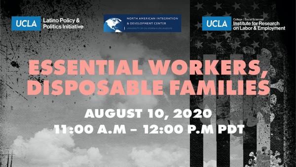 """Presentación del studio: Essential but Disposable: """"Undocumented Workers and Their Mixed-Status Families"""". Foto: Cortesía del Centro de Desarrollo e Integración de América del Norte, UCLA."""