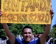 Manifestantes en la capital del país expresaron su deseo a ser incluidos en el censo. Foto: José López Zamorano.